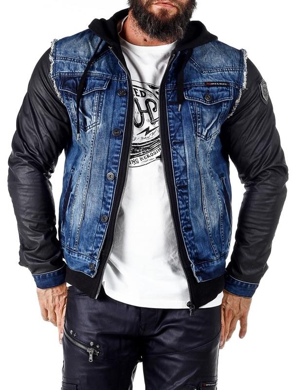 Rocky Denim Jeansjakke Blå